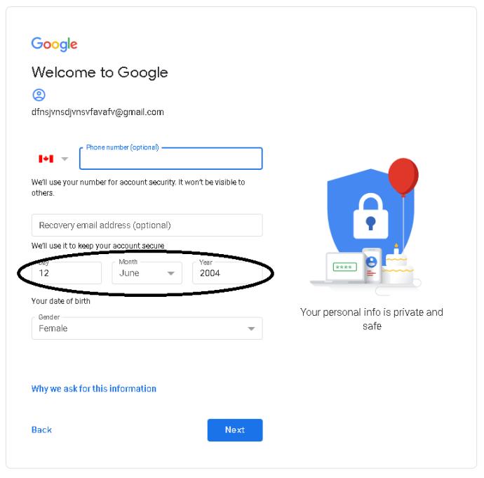 1️⃣ So verwenden Sie Google Mail ohne Telefonnummer