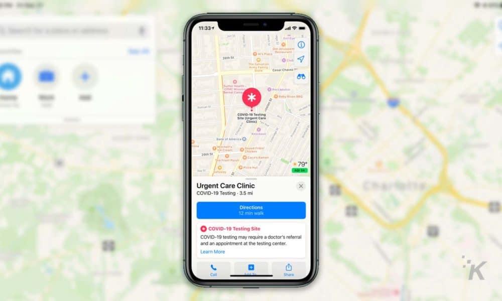 Apple Bản đồ sẽ cho thấy bạn gần với trang web COVID-19 như thế nào 1
