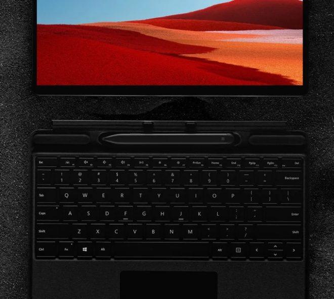 Microsoft Surface Pro X, Snapdragon 4 Nó là một Surface Surface được thiết kế với Bộ xử lý