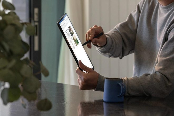 Microsoft Surface Pro X, Snapdragon 2 Nó là một Surface Surface được thiết kế với Bộ xử lý