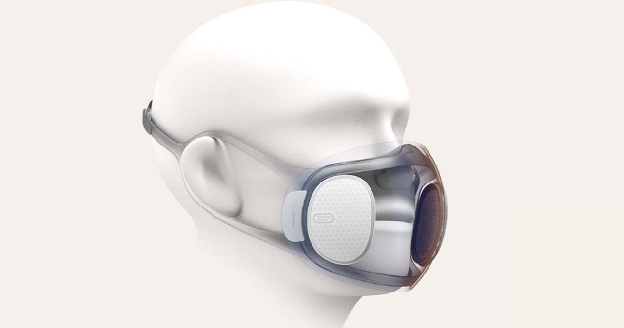 Huami has developed a new mask that allows us to use face recognition on our smartphones 1