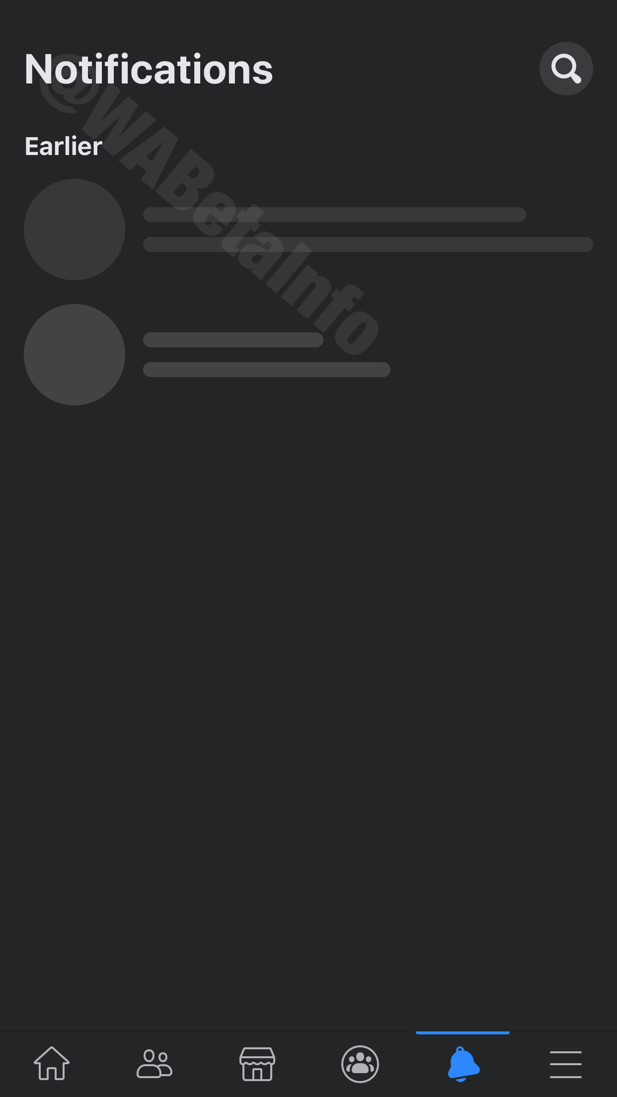 Karanlık Modu'nu açma Facebook iOS için! 4