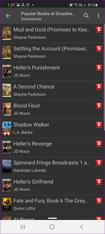 Sự thay thế tốt nhất Amazon Kindle        Ứng dụng 21