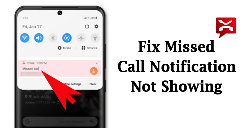 Cách khắc phục thông báo cuộc gọi nhỡ trên Android 3