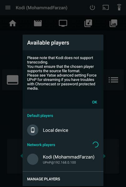 Cara termudah untuk Streaming Kodi di Chromecast menggunakan Android 19