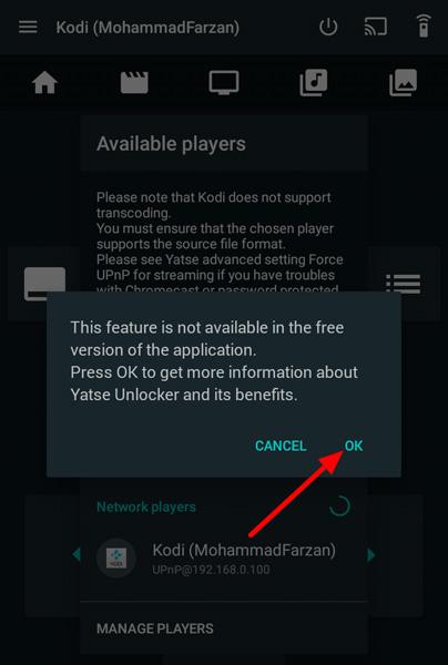 Cara termudah untuk Streaming Kodi di Chromecast menggunakan Android 20
