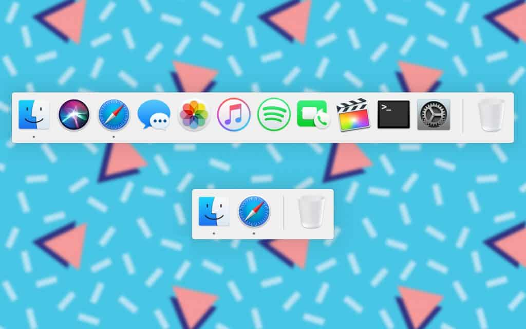 How to create a Mac Dock display just opens the application 1