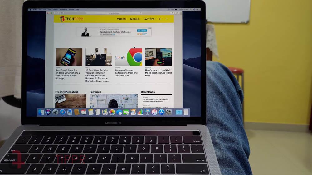 Đánh giá MacBook Pro 13 (tháng 7 năm 2019) | Một chút thỏa hiệp ở cấp độ MacBook Pro 13 Entry 3