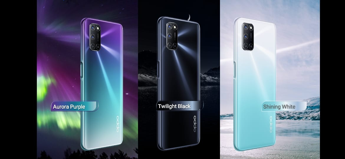 The new OPPO A92: a hollow screen, four cameras and 2 large batteries