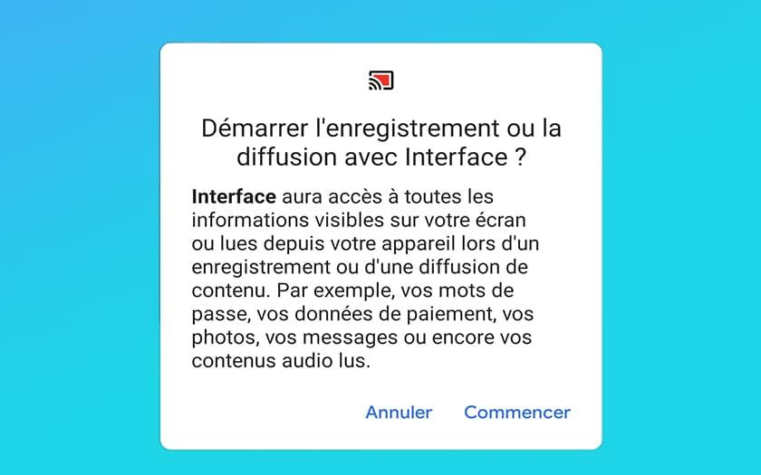 grabación de video de Android 11