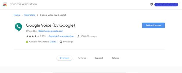 Google Voice'u Bilgisayarınızın Masaüstünde Kullanma 7