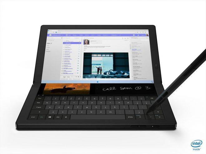 CES 2020: Lenovo ThinkPad X1 Fold sadece fiyat etiketi ve lansman tarihi var katlanabilir bir dizüstü bilgisayar 1
