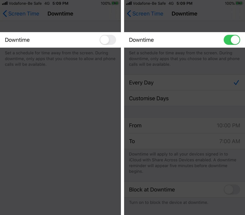 Bật thời gian trên màn hình trên iPhone
