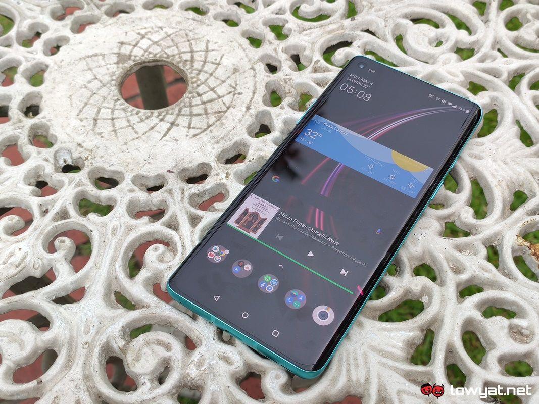 OnePlus 8 Hands On: Çok Fazla Tasarım 13