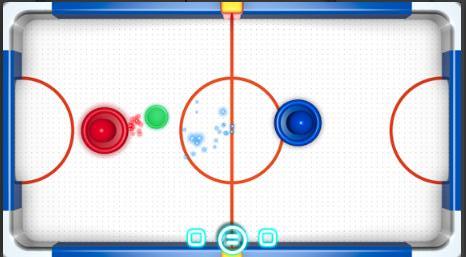 Trò chơi khúc côn cầu phát sáng Android