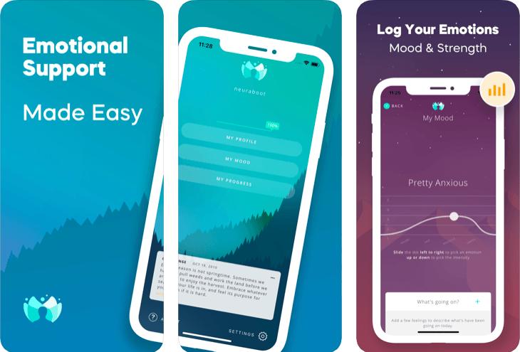 NeuraBoot: Đánh giá iPhone Hỗ trợ tâm trạng 3