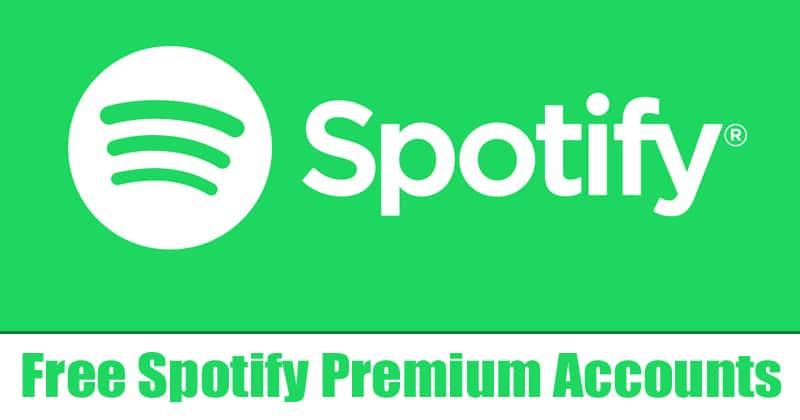 Contas e senhas premium gratuitas do Spotify (100% funcionando)