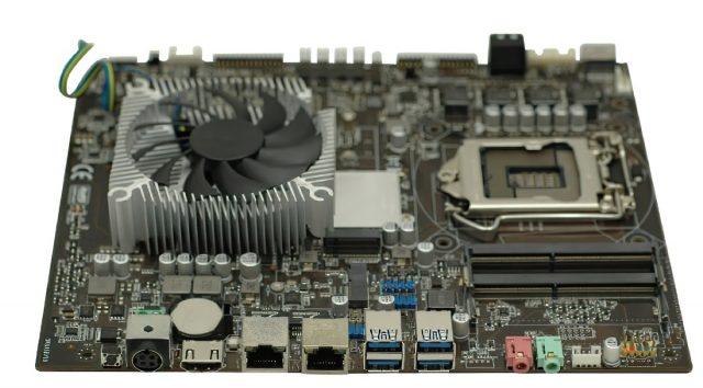 Còn bo mạch chủ Intel B150 tích hợp GTX 1050 Ti thì sao? 3
