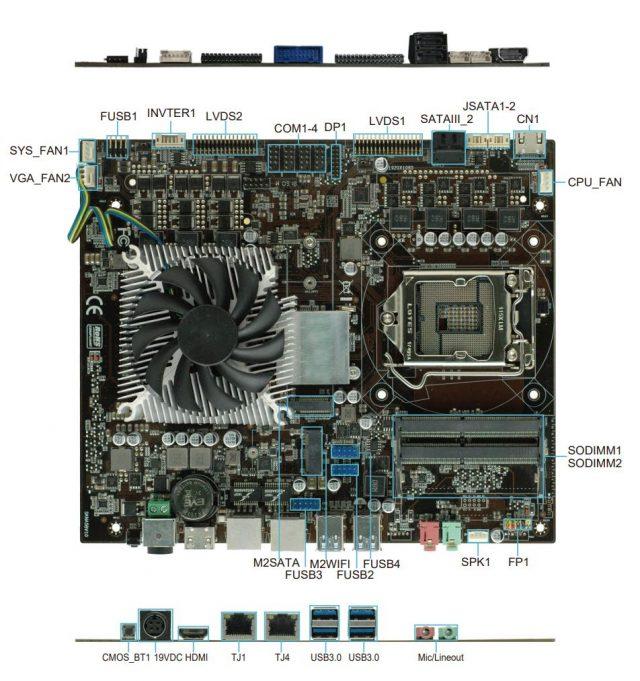 Còn bo mạch chủ Intel B150 tích hợp GTX 1050 Ti thì sao? 4