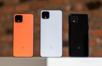 Google Pixel 4 və Pixel 4 Ölçü və rəng XL
