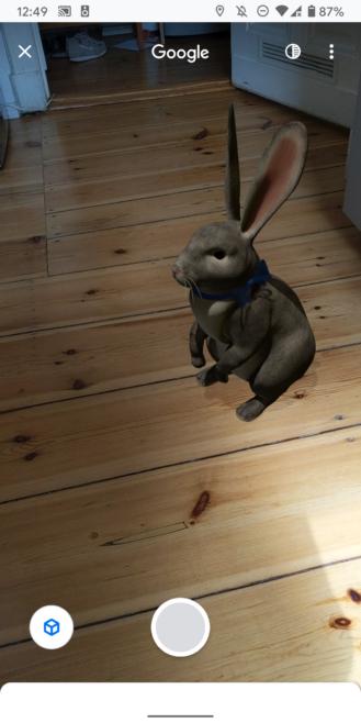 """Google 3D Hayvanlar: 30'dan fazla AR canlısı, uyumlu telefon listesi 5 """"width ="""" 329 """"height ="""" 658 """"loading ="""" tembel"""
