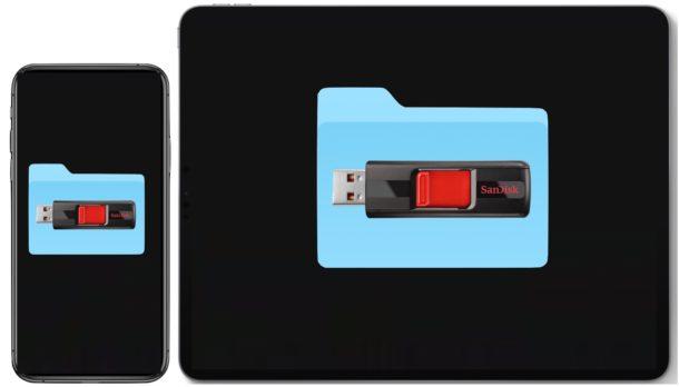 Kết nối thiết bị lưu trữ ngoài với iPhone và iPad của bạn 2