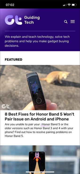 Safari Iphone Saytı Ev ekranına əlavə edin 2