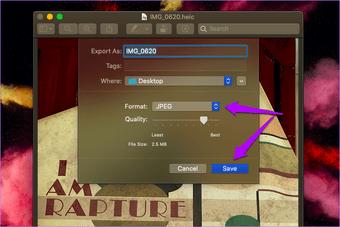 Конвертировать Heic в Jpg Mac 5