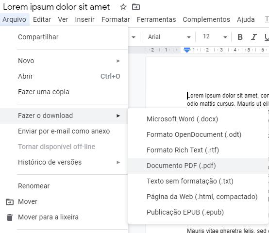 Belgeyi PDF olarak kaydedin