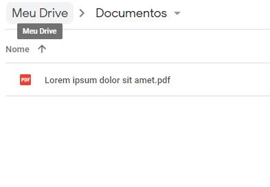 Google Drive'daki PDF dosyaları