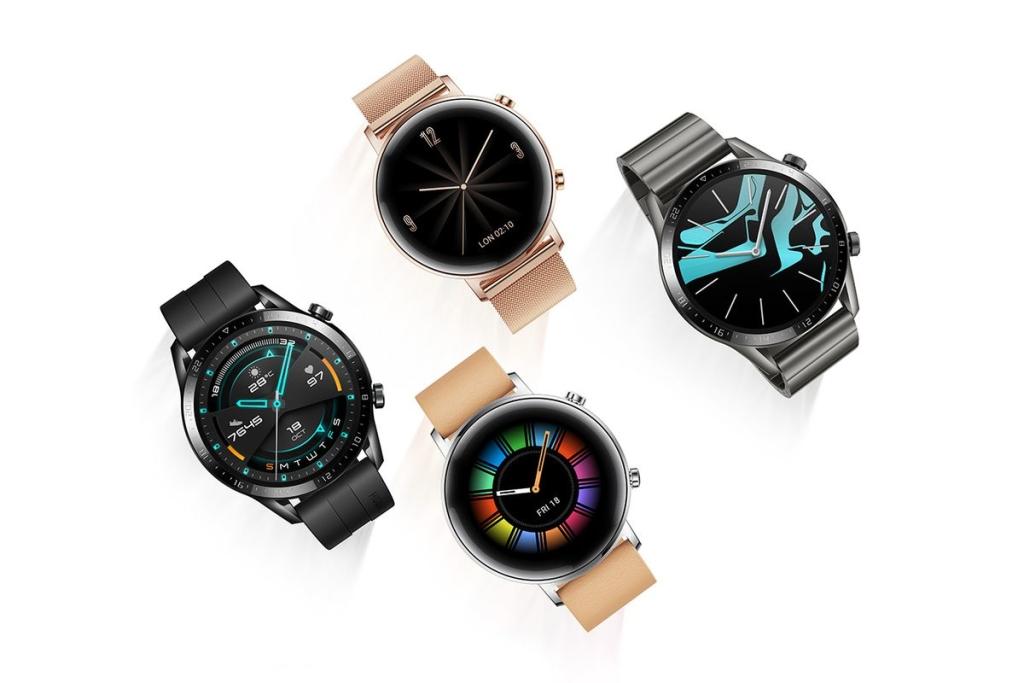 Bốn chiếc đồng hồ Huawei GT 2