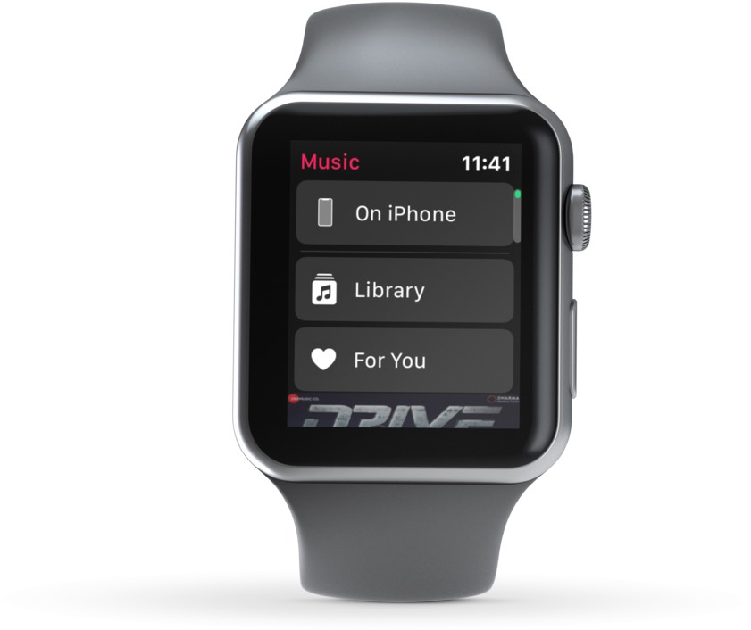 IPhone, Kitabxana və sizin üçün seçimlər Apple Watch
