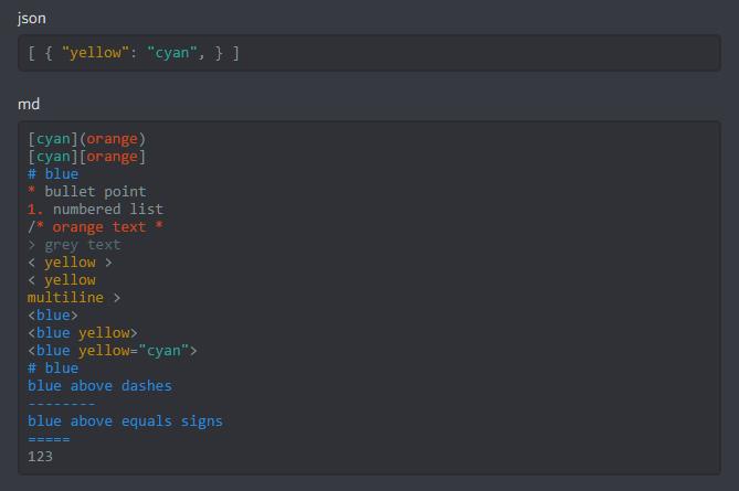 Как изменить цвет текста Discord 9