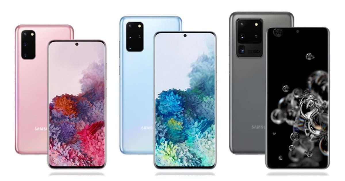 Samsung Galaxy S20 serisinin amiral gemisi, markalarının 120Hz ekran sunan ilk markası
