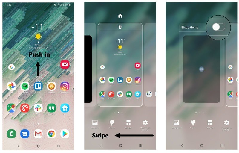İpucu: Bixby ekipmanını tamamen kapatma Galaxy Samsung 2'den