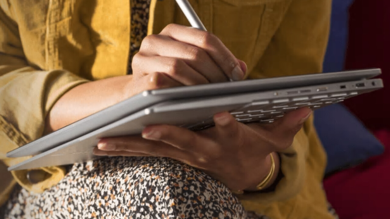 Chromebook HP: Elite c1030 dengan sehingga enam teras dan 3:2Paparan