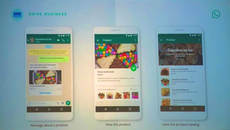 WhatsApp reklamı