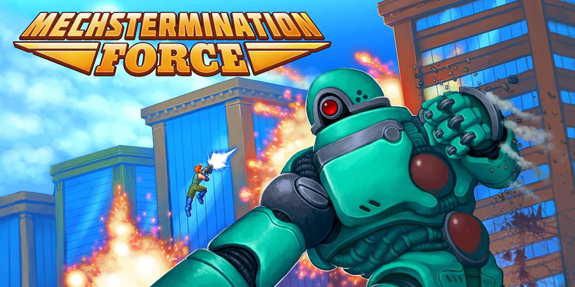 Mechstermination Force sẽ đến Steam vào ngày 22 tháng 5 - Trò chơi, Ảnh chụp màn hình và Đoạn giới thiệu trò chơi 3