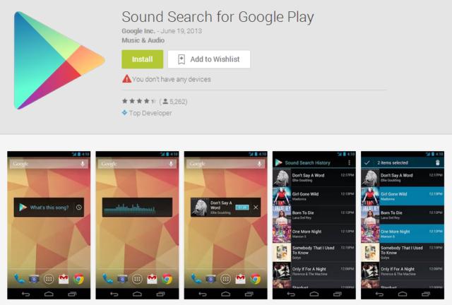 Google Play üçün səsli axtarış