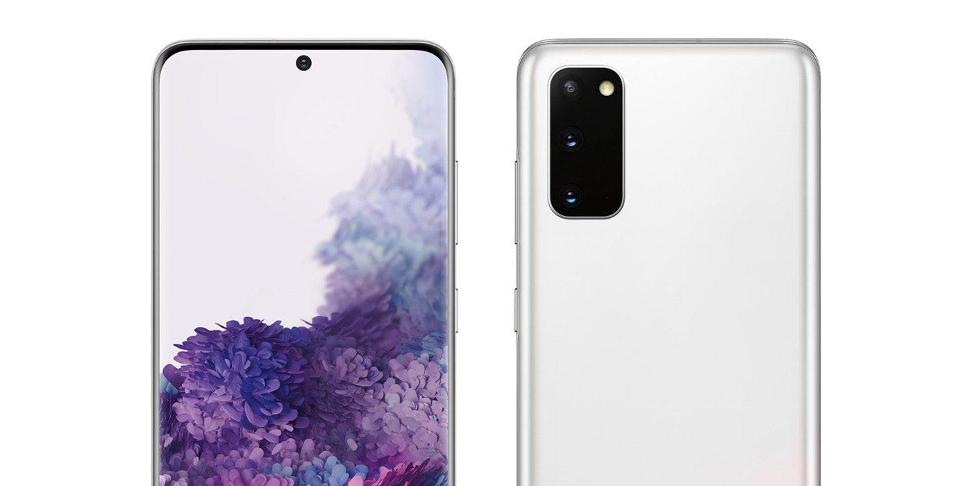 Samsung Galaxy Đường màu S20 'Cloud White' sắp tới, độc quyền của Verizon 1
