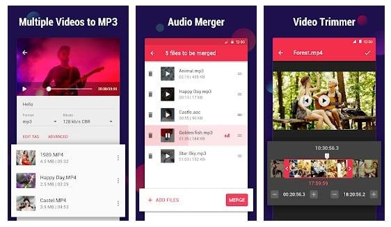 Bộ chuyển đổi video cho MP3