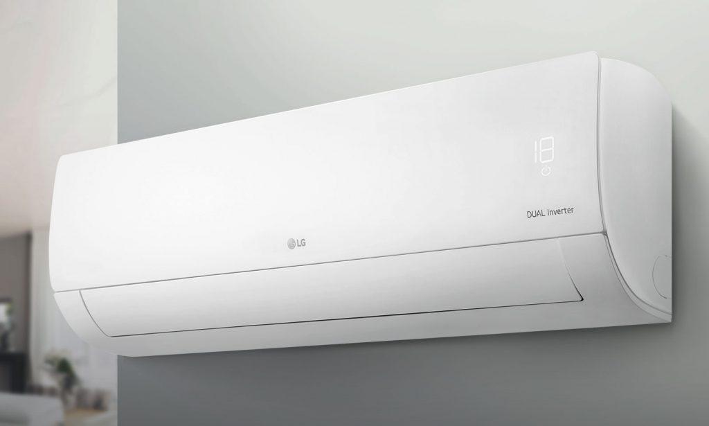 Zoom-un ən populyar məişət texnikalarından biri olan LG-nin kondisionerləri ağ fona malikdir