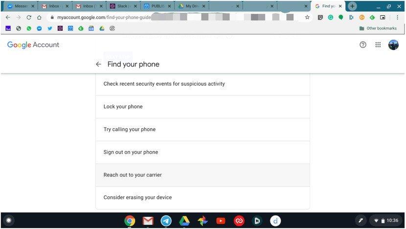 Совет: не отчаивайтесь, если вы потеряете Samsung Galaxy 10