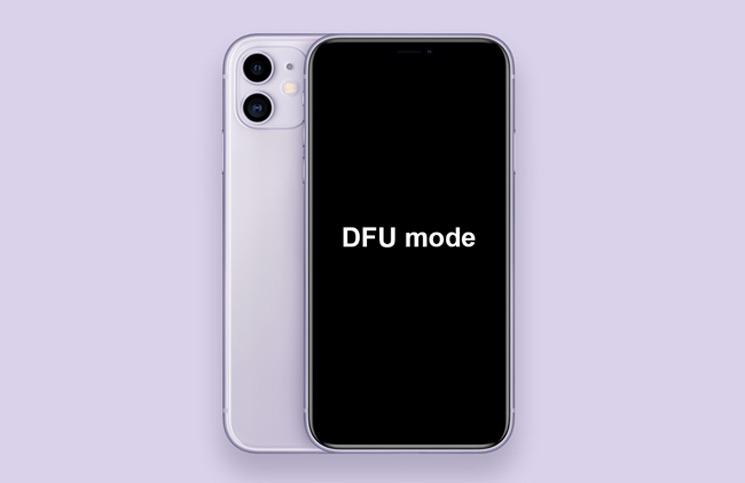 Cắm iPhone 11, 11 Pro, 11 Pro Max vào Chế độ DFU