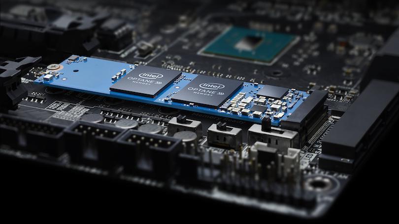 Intel, Optane: 144 lớp QLC NAND, PCIe để buôn chuyện 4.0 cải tiến 3