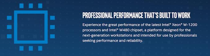 Intel công bố dòng Xeon W-1200: Comet Lake cho máy trạm, W480 1