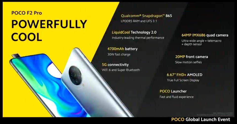Pocophone F2 Pro 499 € üçün? Bütün satışlar və Portuqaliya üçün deyil 2