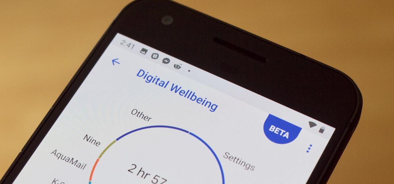 Cara Menyiapkan Kesejahteraan Digital di Android Pie untuk Mengurangkan Penggunaan Telefon Pintar Anda «Android ::