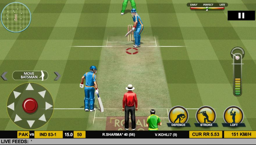 Cricket real 17 para Android
