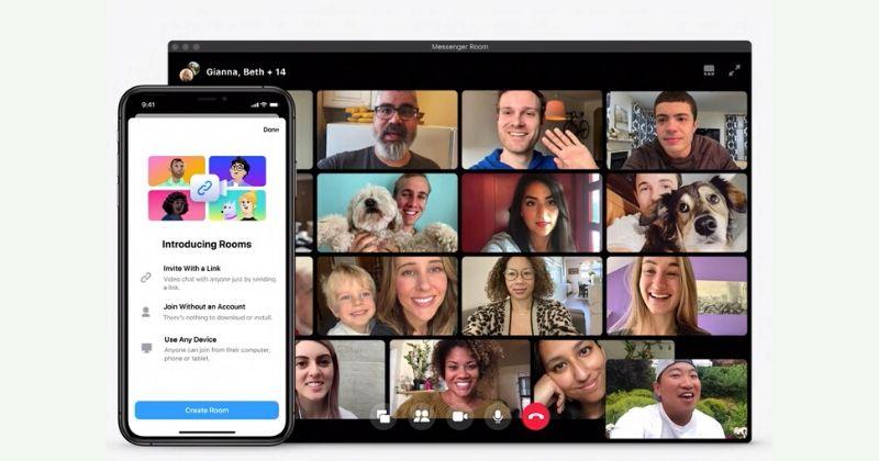 Facebook Ra mắt toàn cầu Messenger Tính năng phòng 1